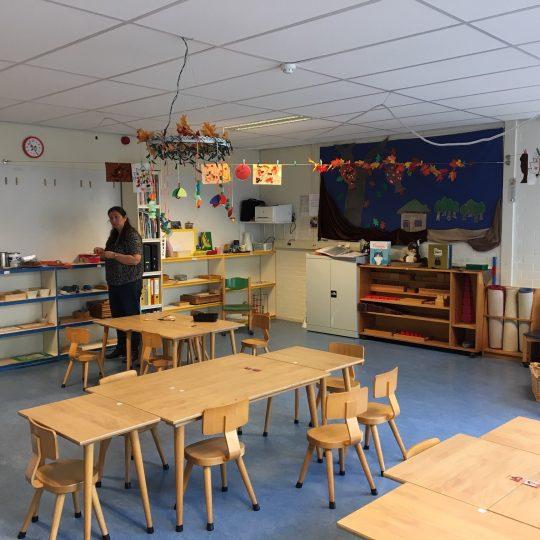 Peuteropvang Montessori De Kubus
