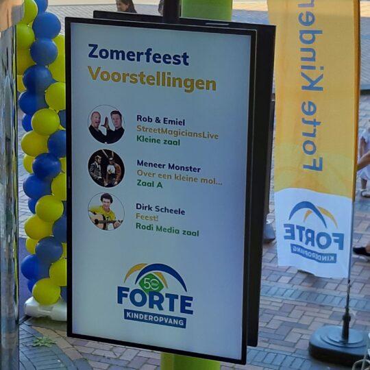 Jubilerend Forte viert feest!