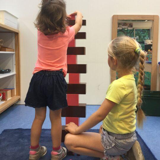 Opvang tijdens schooltijden Montessori Castricum