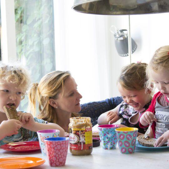 Tip van Tischa voor gezellige eetmomenten
