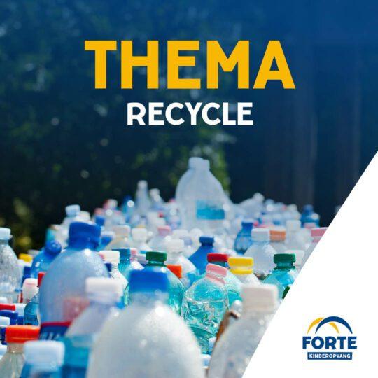 Activiteiten Zomer op het KDV: Geef het een tweede kans (Recycle)!